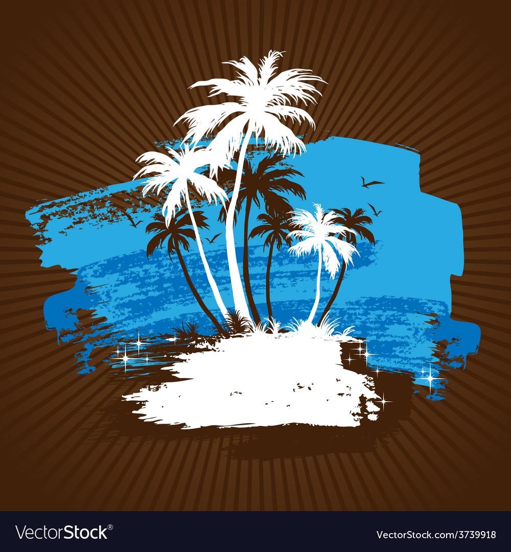 Beach 01 03 vector | Price: 1 Credit (USD $1)