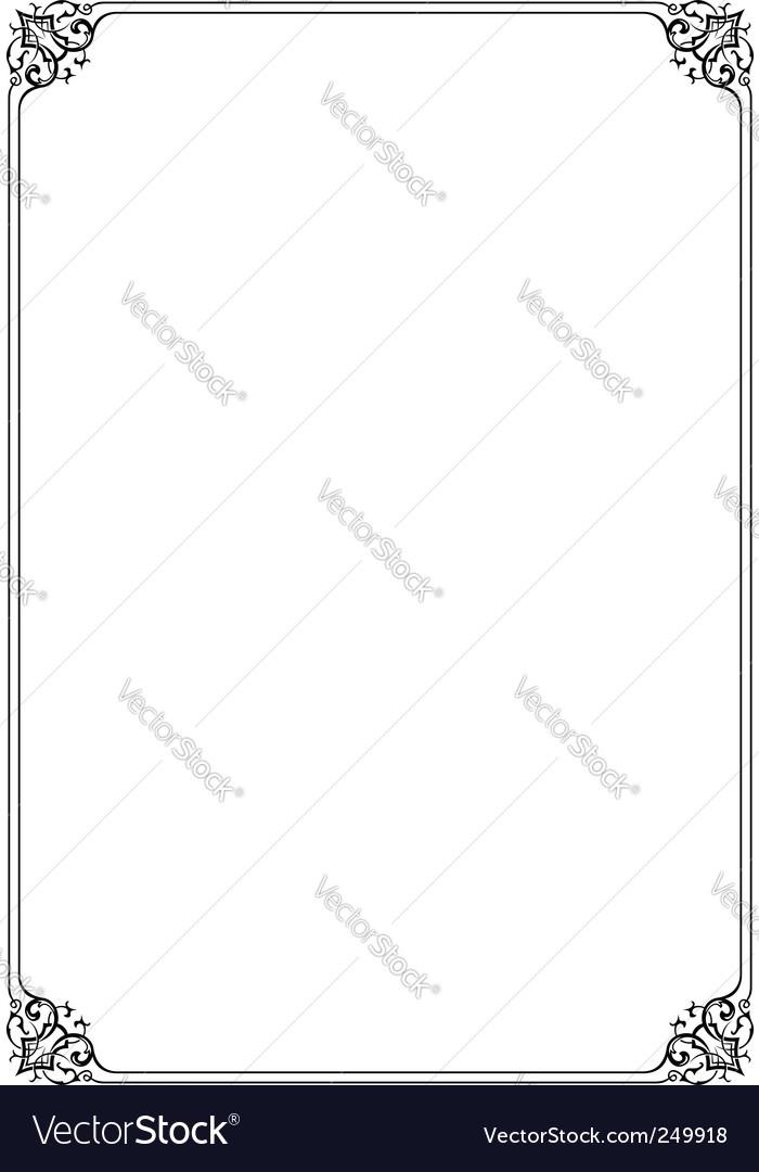 Elegant frame vector   Price: 1 Credit (USD $1)