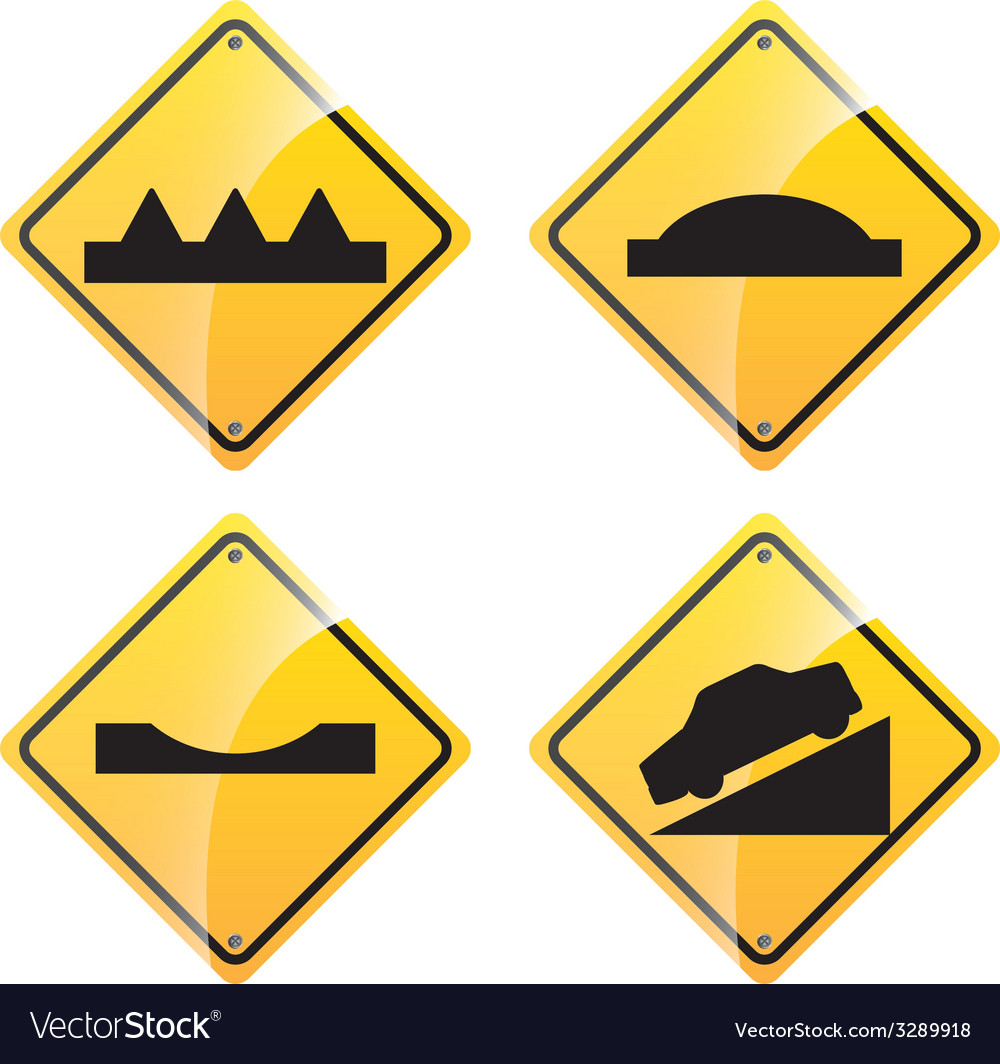 Road signal design vector | Price: 1 Credit (USD $1)