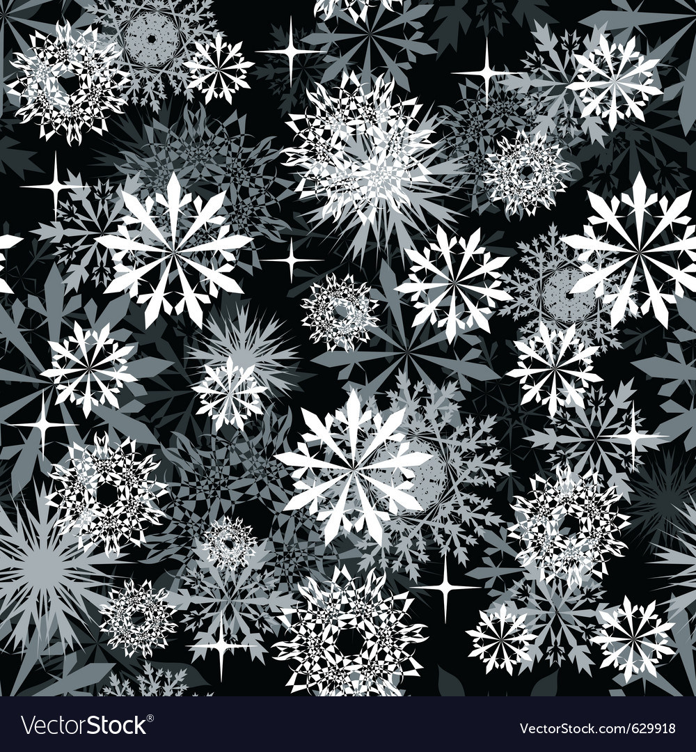 Snowflake background vector | Price: 1 Credit (USD $1)