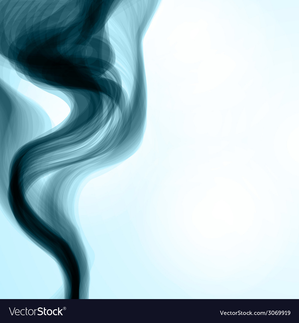 Blue smoke background vector   Price: 1 Credit (USD $1)