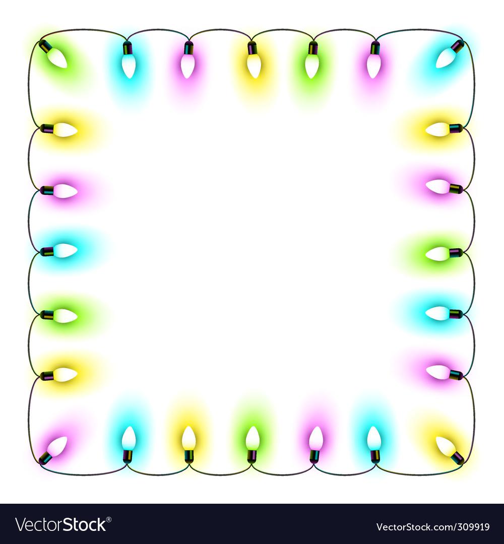 Christmas lights vector | Price: 1 Credit (USD $1)