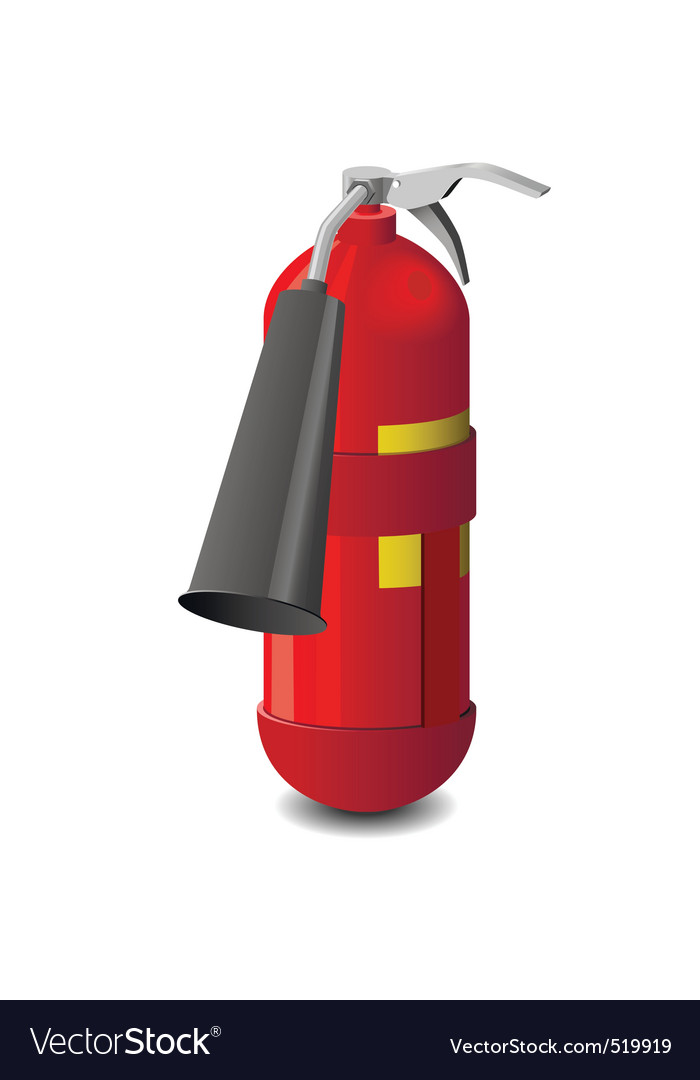 Extinguisher vector | Price: 1 Credit (USD $1)