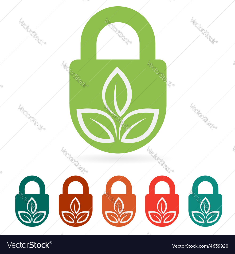 Protect environment web icon flat vector   Price: 1 Credit (USD $1)