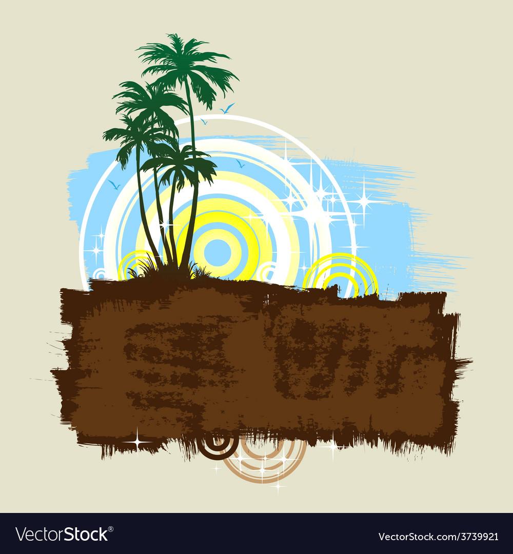 Beach 02 01 vector | Price: 1 Credit (USD $1)