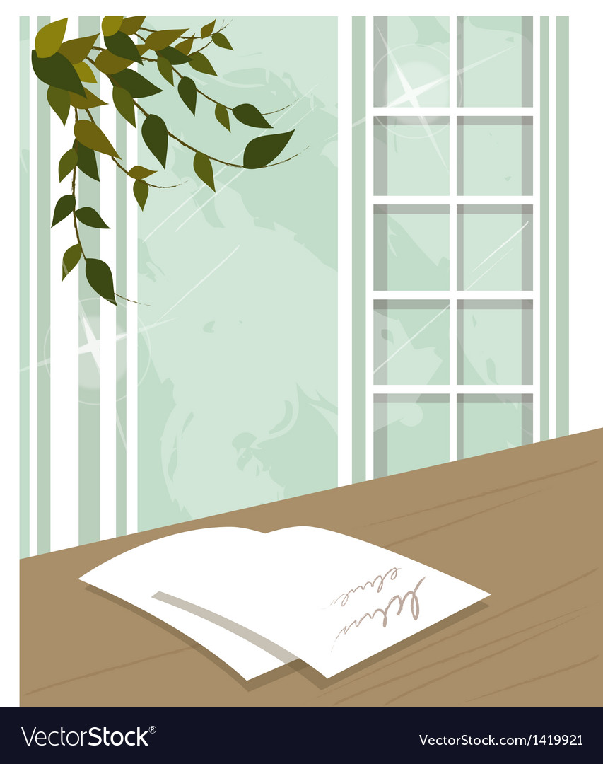 Note on table vector | Price: 1 Credit (USD $1)