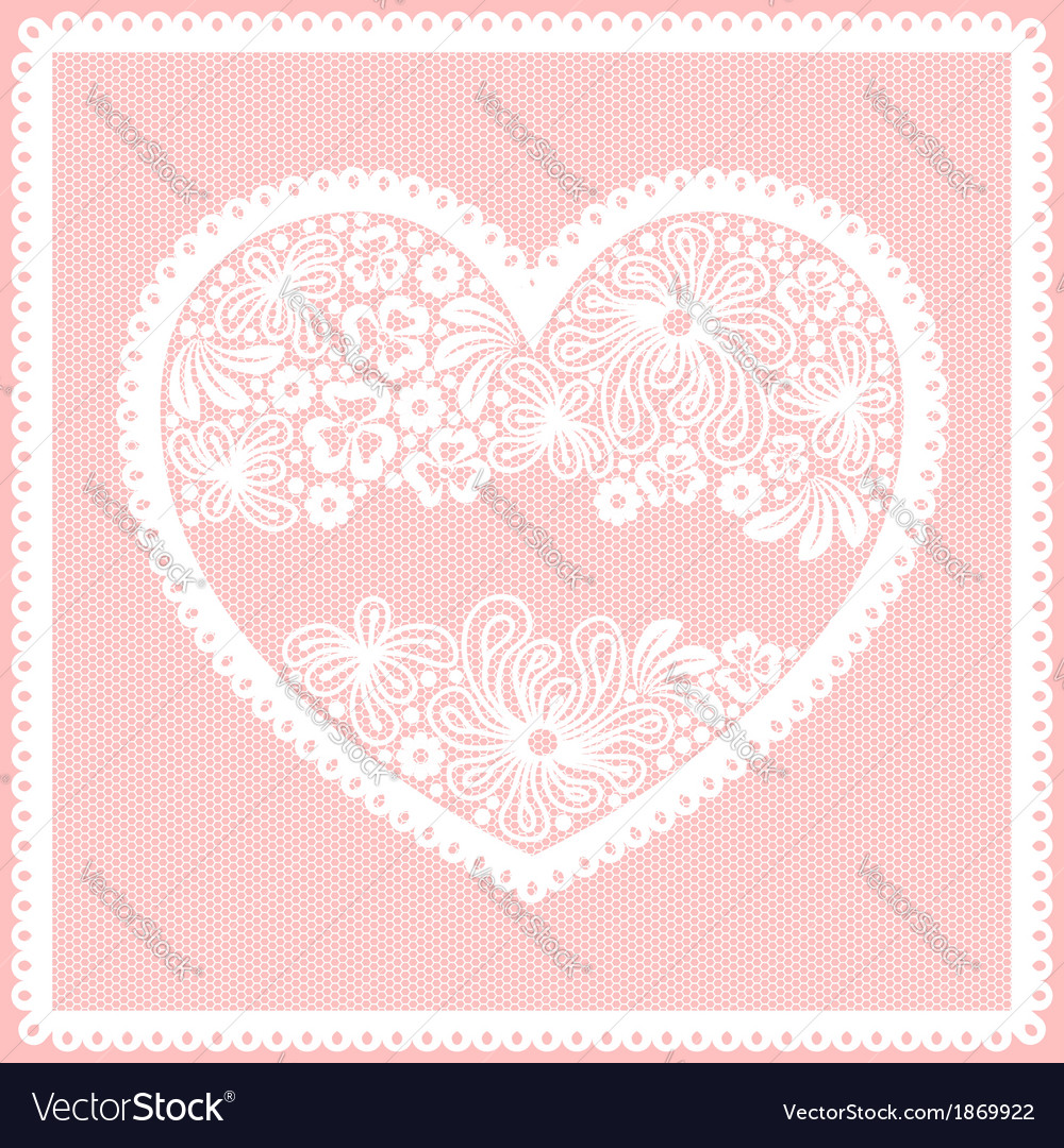 Lacy frame vector | Price: 1 Credit (USD $1)