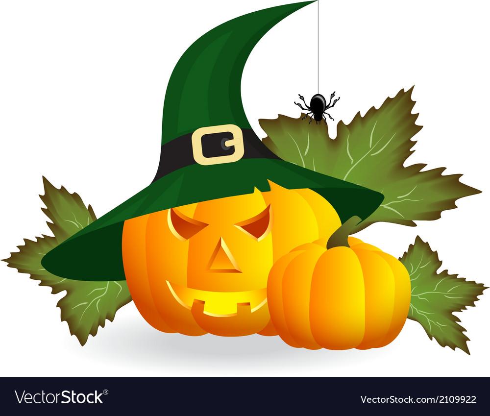 Pumpkins for halloween vector   Price: 1 Credit (USD $1)