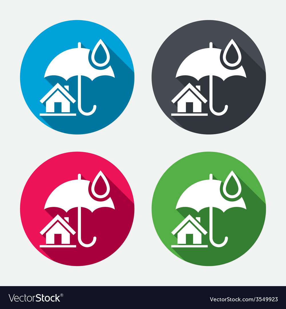 Home insurance sign icon real estate insurance vector   Price: 1 Credit (USD $1)