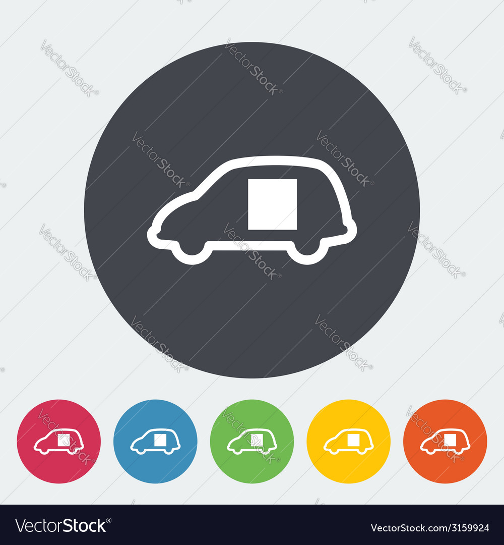 Car sliding door vector | Price: 1 Credit (USD $1)