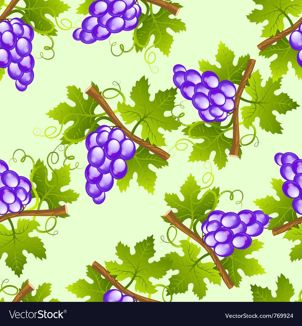 Grape seamless pattern vector   Price: 1 Credit (USD $1)