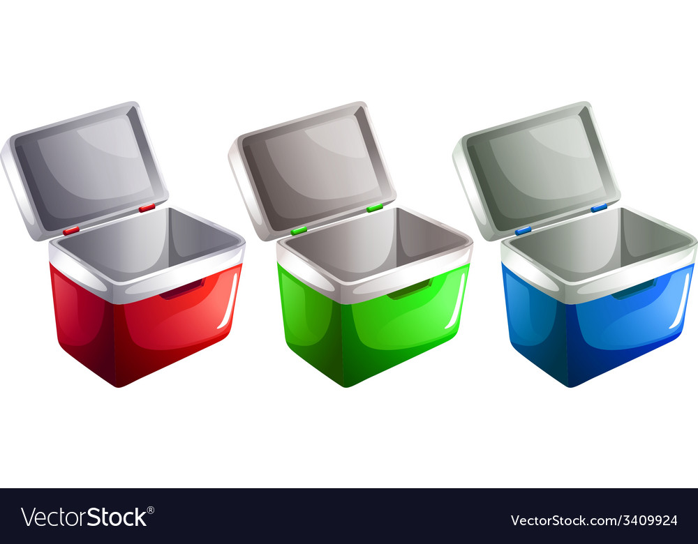 Ice buckets vector | Price: 1 Credit (USD $1)
