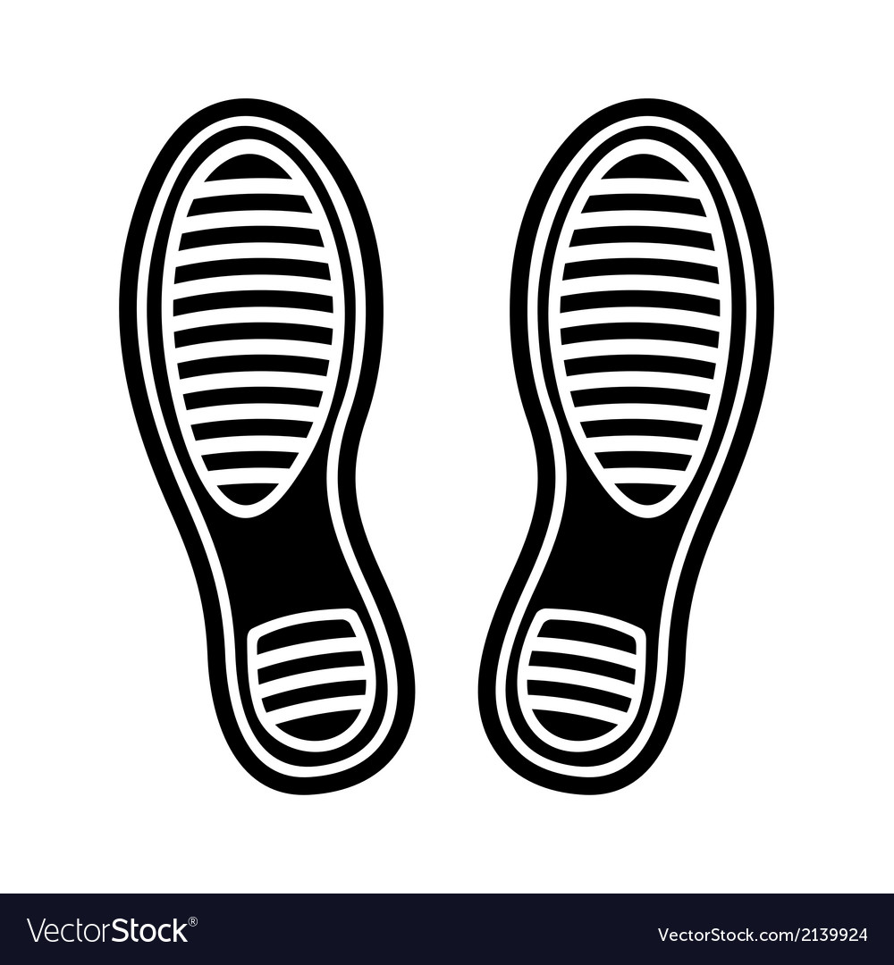 Imprint shoes vector | Price: 1 Credit (USD $1)