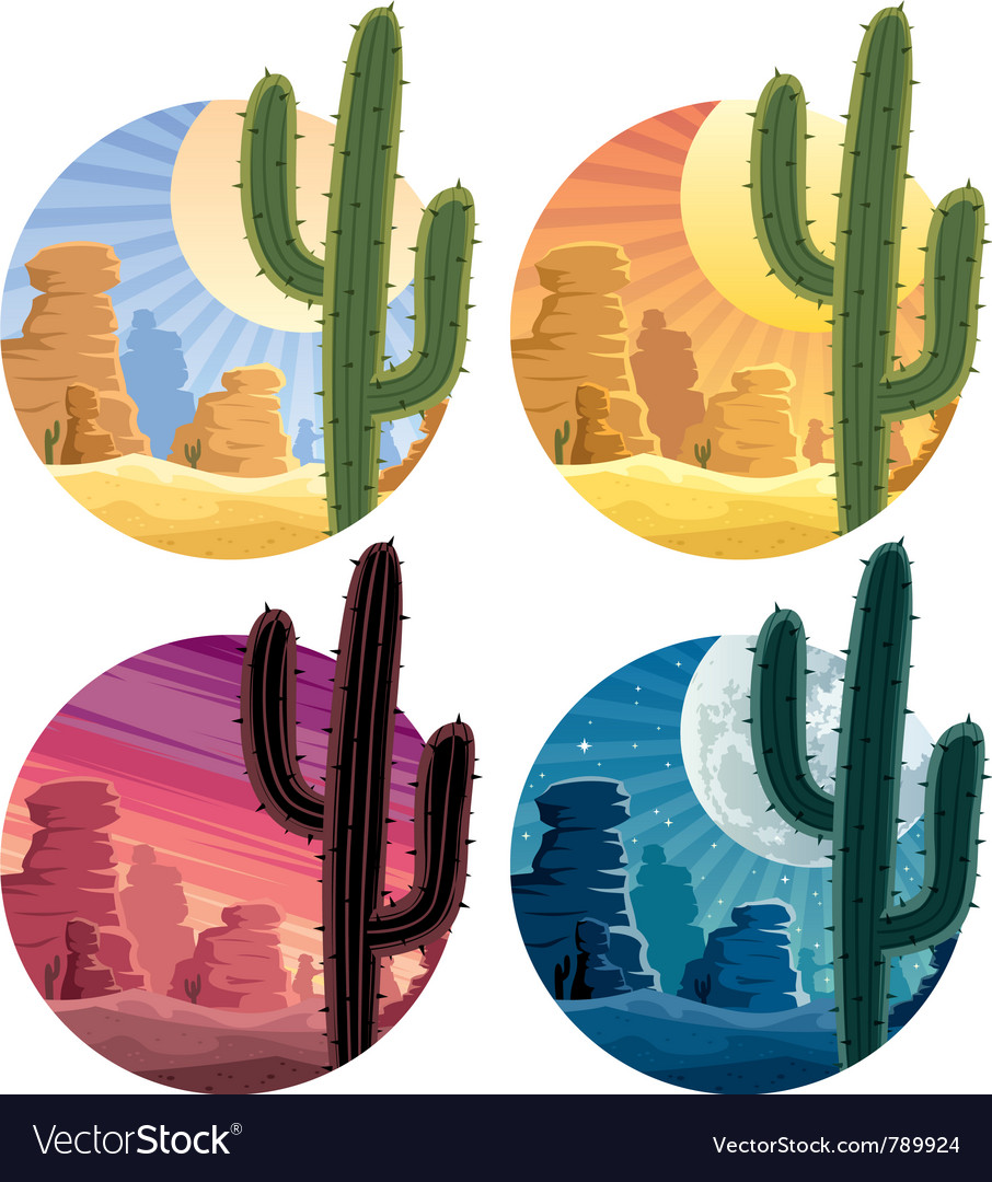 Mexican desert vector | Price: 3 Credit (USD $3)