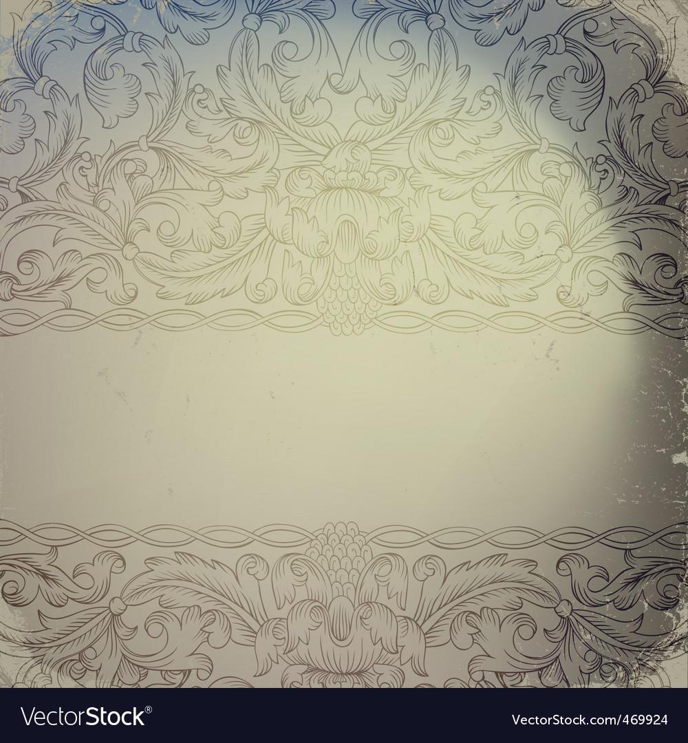 Vintage ornamented vector | Price: 1 Credit (USD $1)