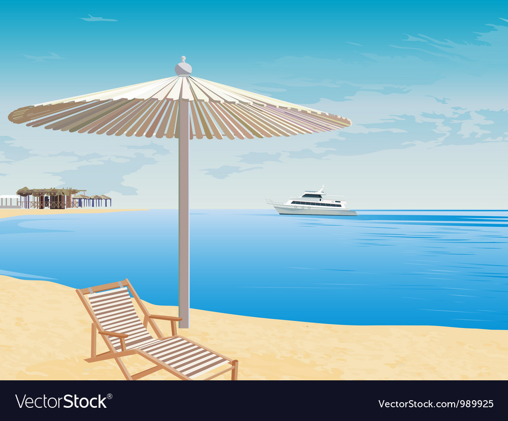 The background to the coast vector | Price: 1 Credit (USD $1)