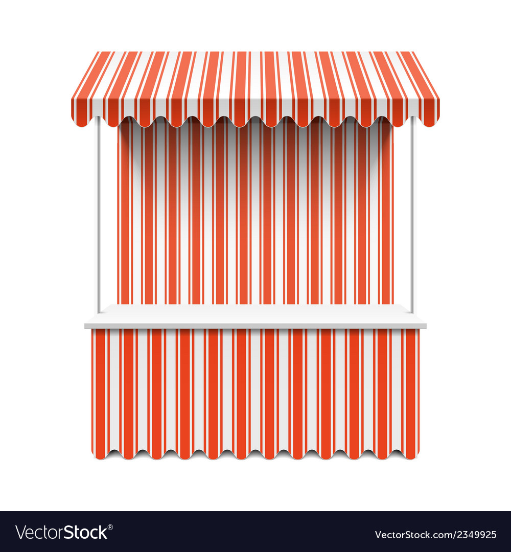 Market stall vector | Price: 1 Credit (USD $1)