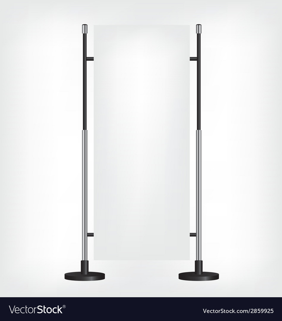 Roll up banner stand vector | Price: 1 Credit (USD $1)