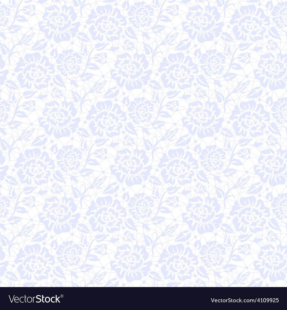Seamless blue lace vector | Price: 1 Credit (USD $1)