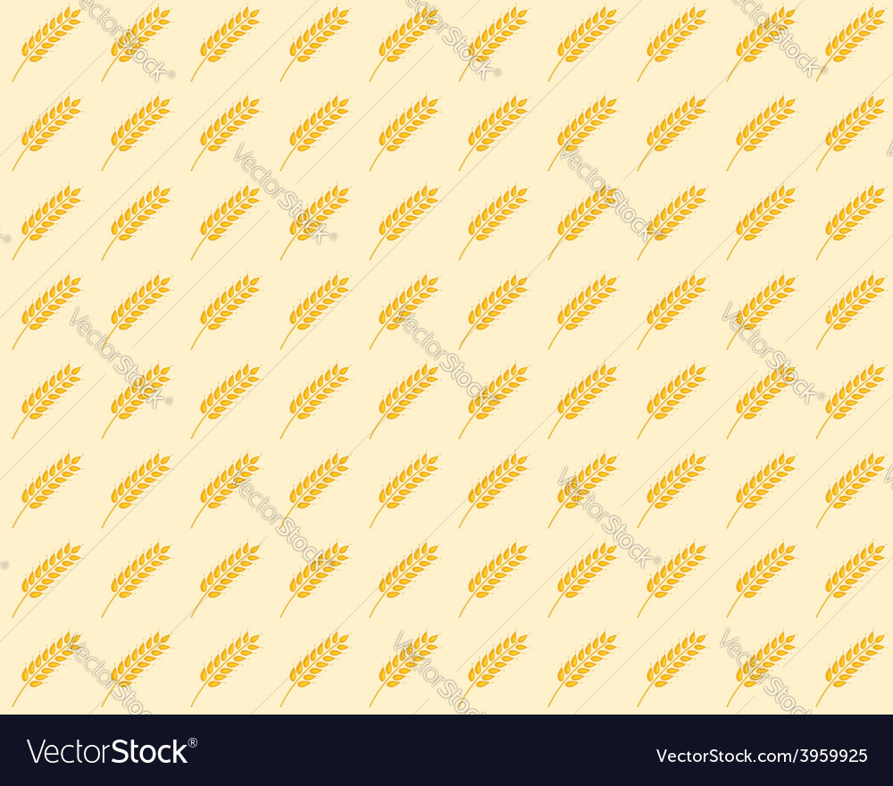 Spikelet seamless pattern vector | Price: 1 Credit (USD $1)