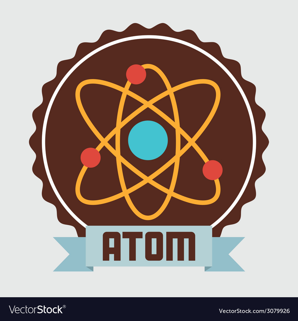 Atom design vector | Price: 1 Credit (USD $1)