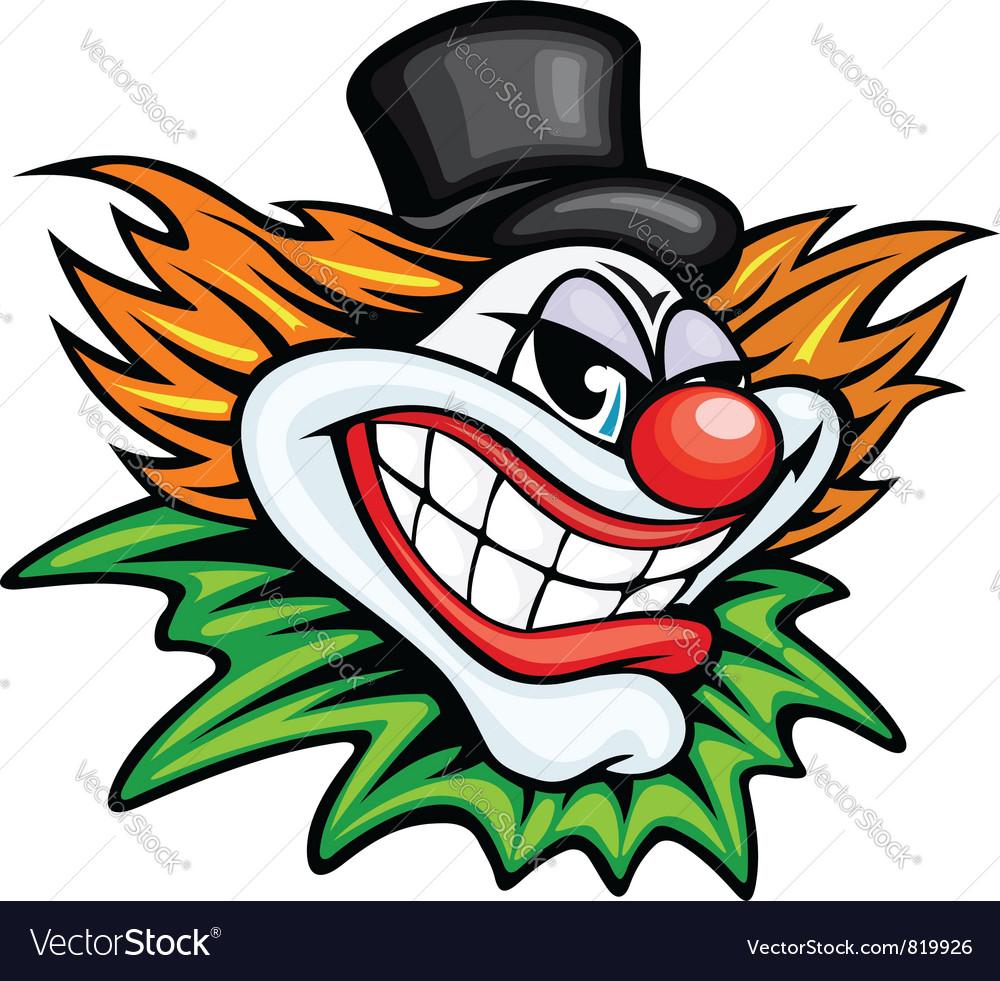 Circus clown vector | Price: 1 Credit (USD $1)