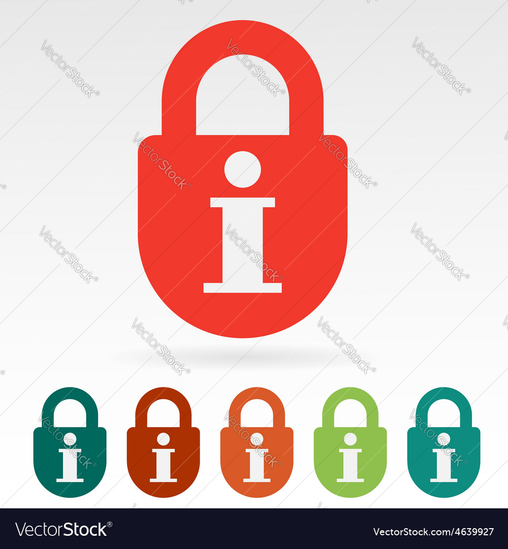 Information secured vector | Price: 1 Credit (USD $1)