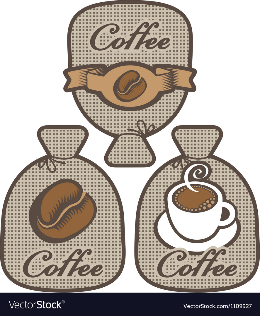 Label for coffee vector | Price: 1 Credit (USD $1)