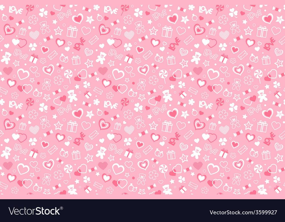 Valentine pattern vector   Price: 1 Credit (USD $1)