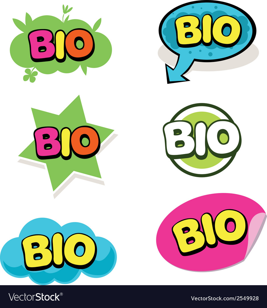 Bio mark vector | Price: 1 Credit (USD $1)