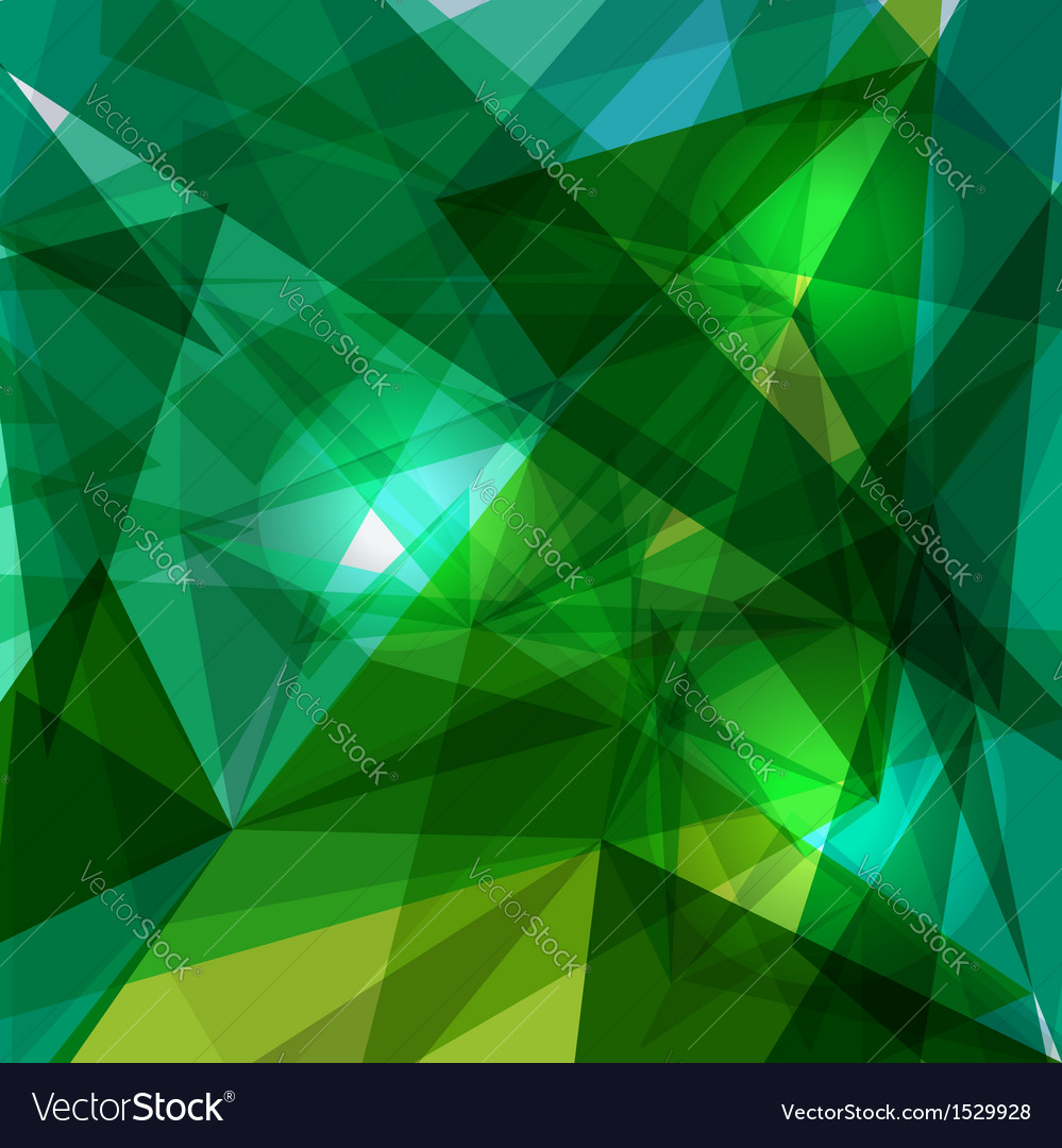 Blue and green geometric transparency vector | Price: 1 Credit (USD $1)