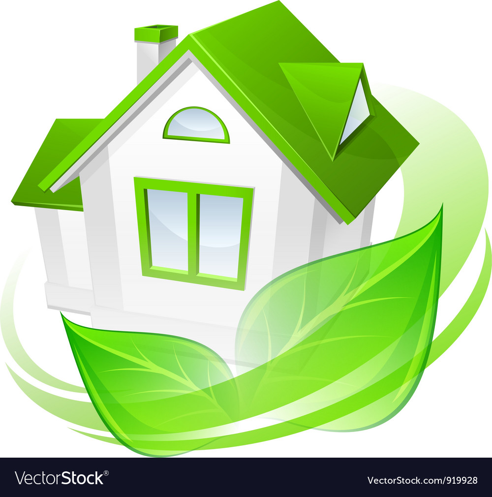 House green leaves abstract vector   Price: 3 Credit (USD $3)