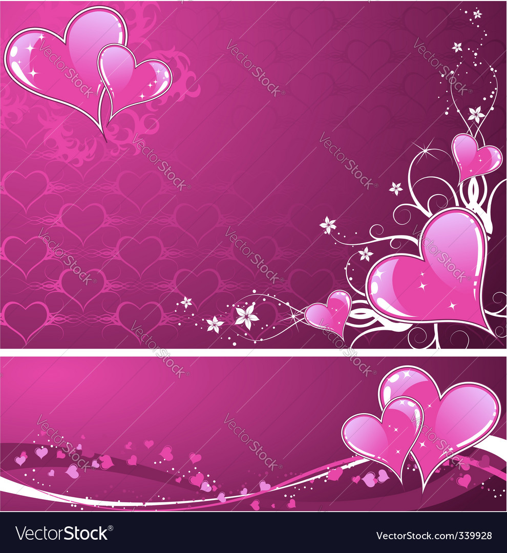 Valentine's background vector | Price: 1 Credit (USD $1)