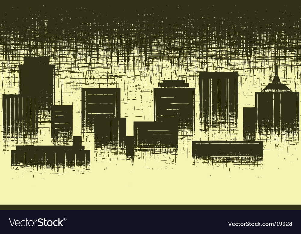 Worn city vector | Price: 1 Credit (USD $1)