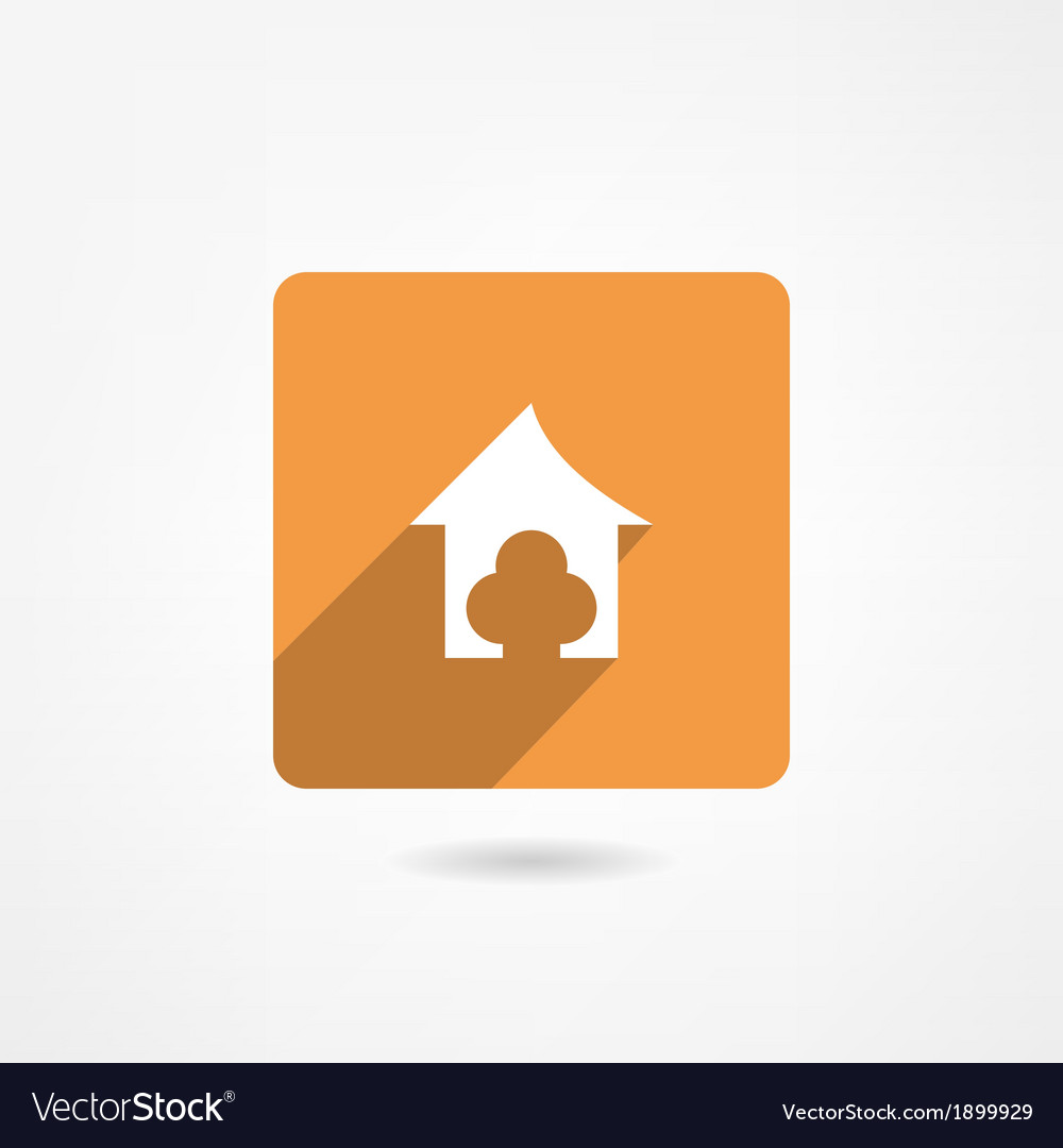 Doghouse icon vector | Price: 1 Credit (USD $1)