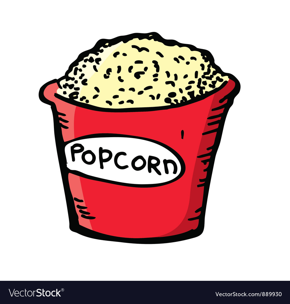 Pop corn vector | Price: 1 Credit (USD $1)