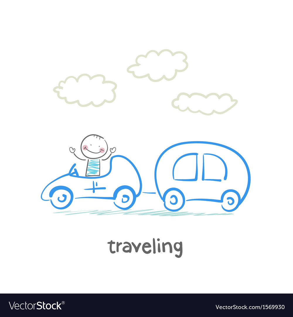 Traveling vector | Price: 1 Credit (USD $1)
