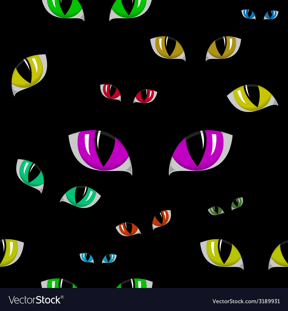 Cat eye seamless texture vector | Price: 1 Credit (USD $1)