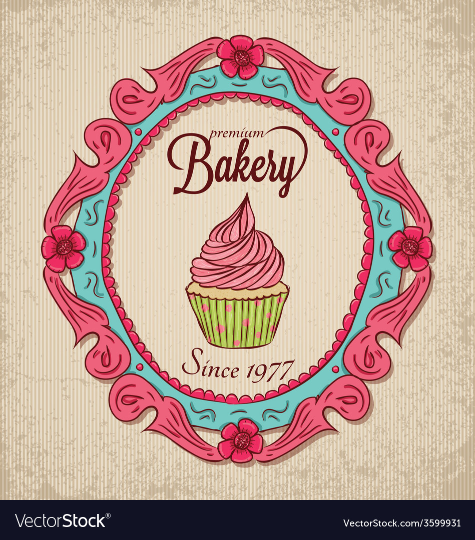 Frame01 bakery vector | Price: 1 Credit (USD $1)