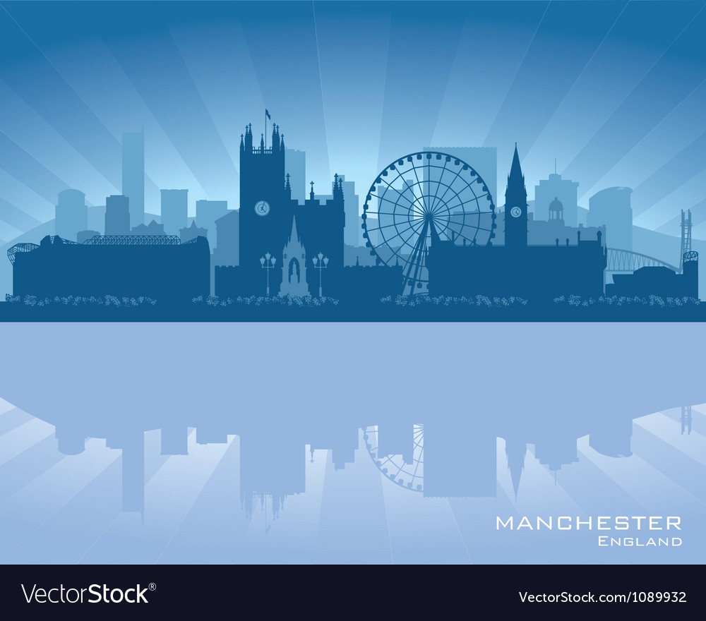 Manchester england skyline vector | Price: 1 Credit (USD $1)