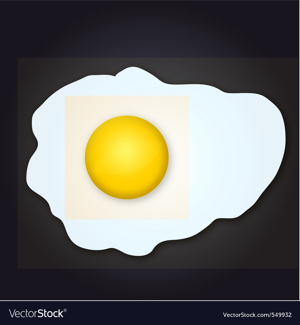 Scrambled egg vector | Price: 1 Credit (USD $1)