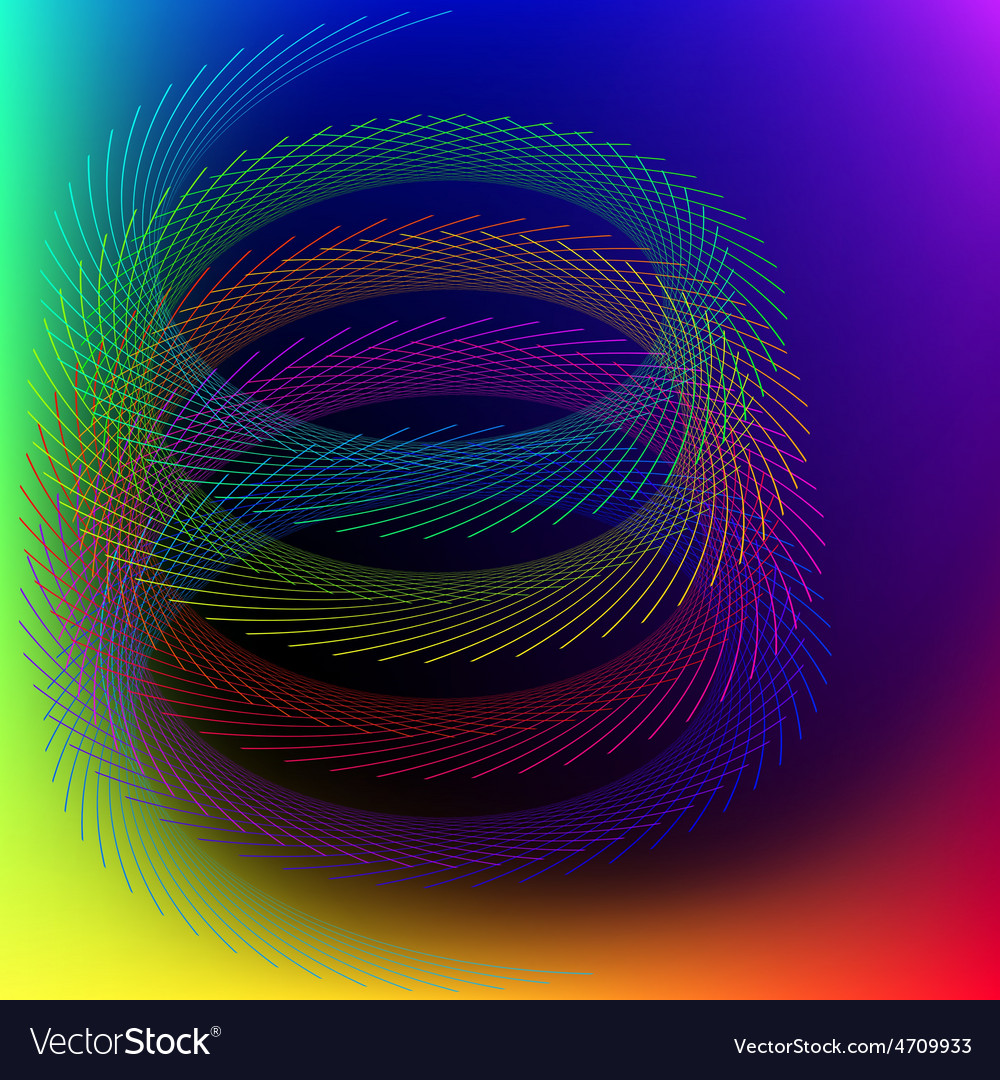 Abstract stylized lines vector | Price: 1 Credit (USD $1)