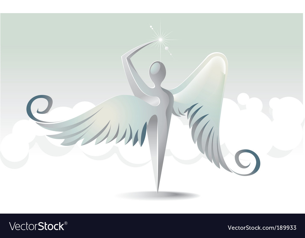 Angels icon vector | Price: 1 Credit (USD $1)