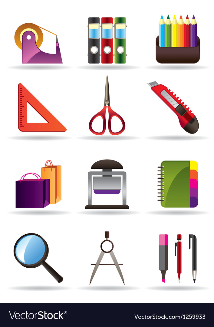 School and education bookstore tools vector | Price: 3 Credit (USD $3)