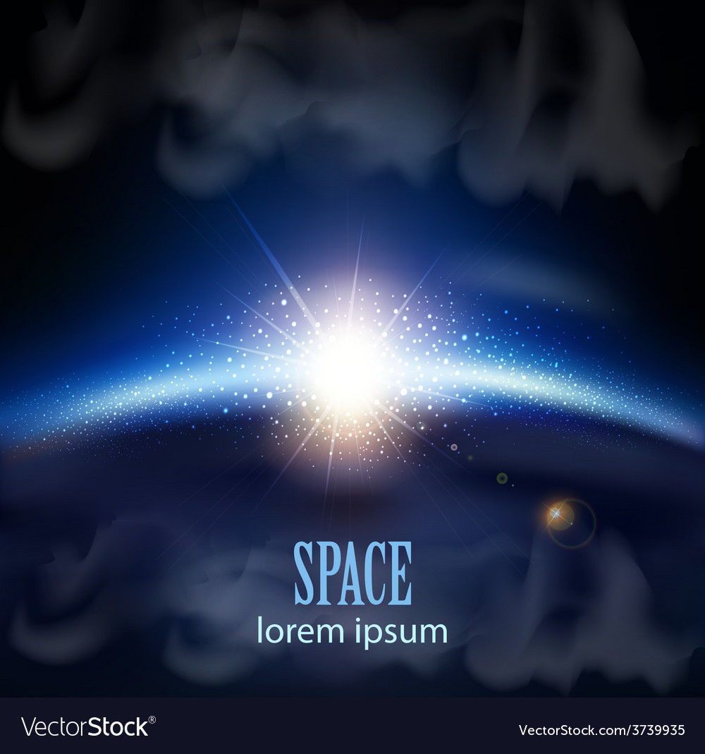 Fantastic background with space vector | Price: 1 Credit (USD $1)