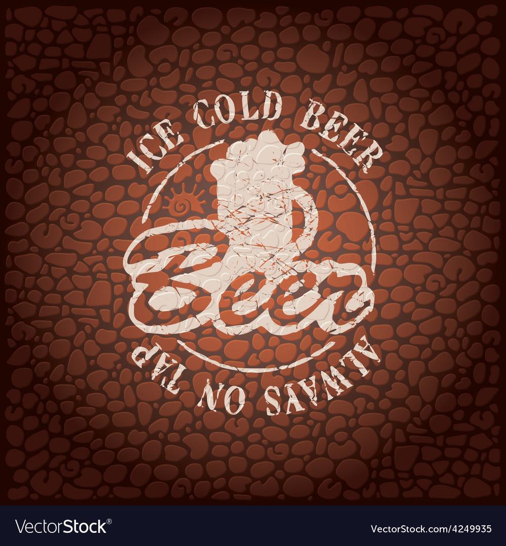 Wall beer vector | Price: 1 Credit (USD $1)