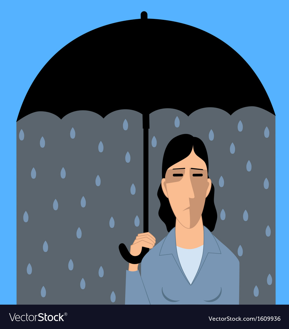 Clinical depression vector   Price: 1 Credit (USD $1)