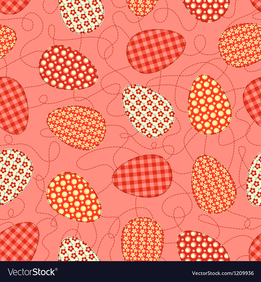 Easter pink seamless pattern vector | Price: 1 Credit (USD $1)