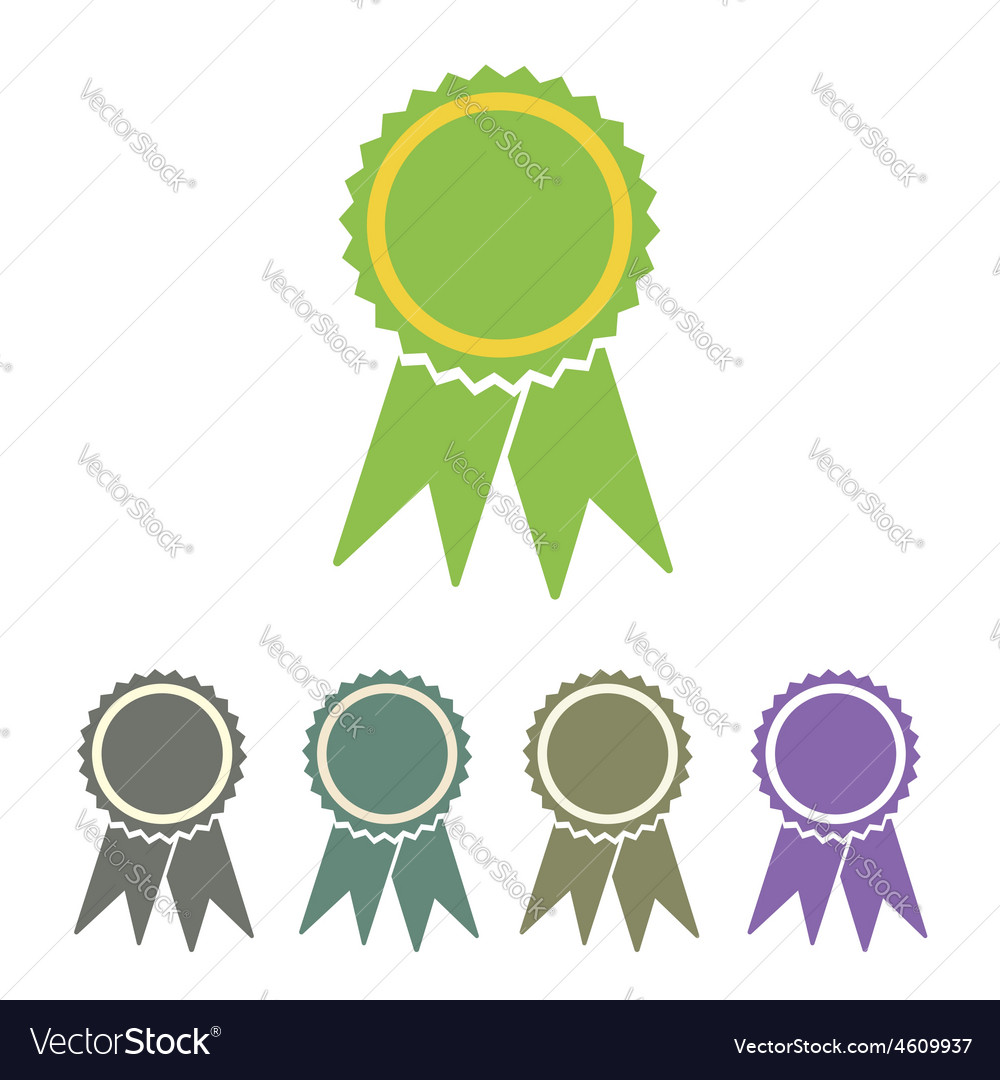 Diploma seal web icon vector
