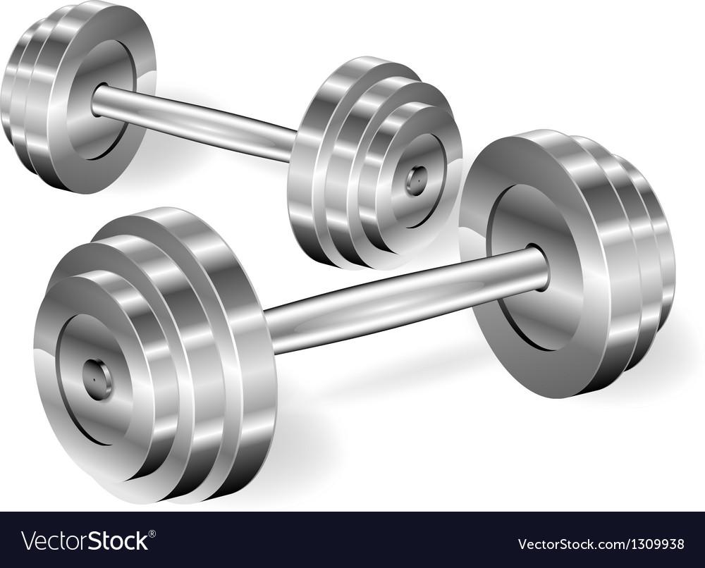 Dumbbells vector | Price: 3 Credit (USD $3)